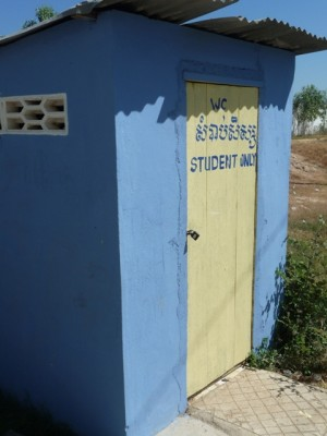 Toilets for the students