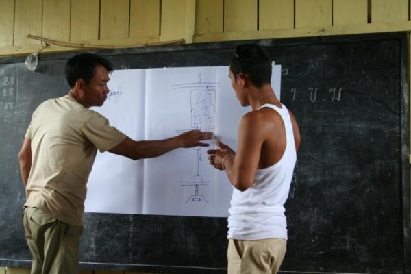 Photo 4: detail planning