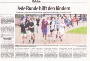 Sponsor run Rahden
