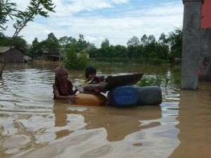 Flooding Anlong Khong