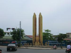 Golden Tower, Cambodja's eerste wolkenkrabber
