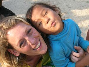 Heida in Cambodja