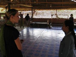 Projectbezoek in Battambang